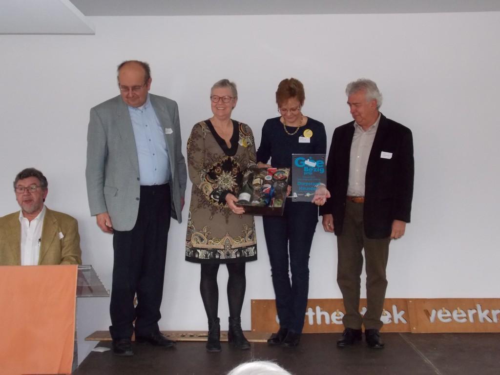 Winnaar GoeBezig-prijs bewonersgroepen Limburg Dorpsraad Heusden