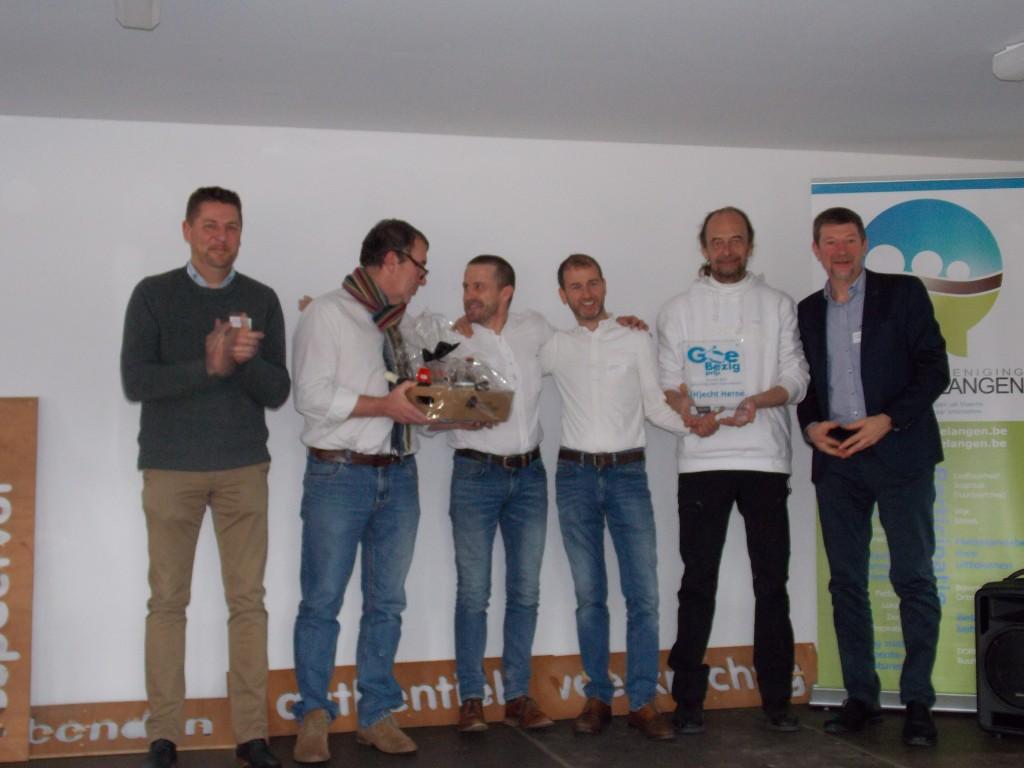 Winnaar GoeBezig-prijs bewonersgroepen Vl-Brabant (H)Echt Herne