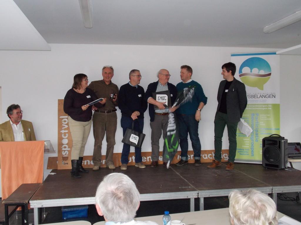 Winnaar GoeBezig-prijs bewonersgroepen W-Vl kern Ettelgem